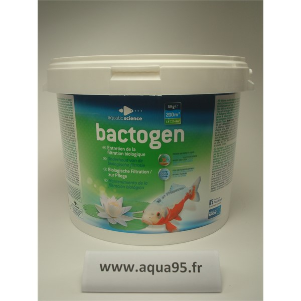 Photo de Traitement de l'eau BACTOGEN 200M3