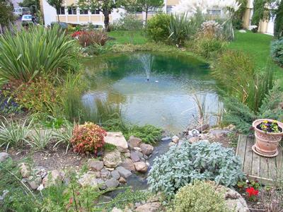 Aqua95 : Spécialiste de la vente et de l\'aménagement du bassin de jardin